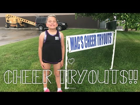 CHEER TRYOUTS!!!