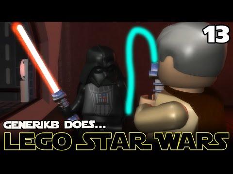 """LEGO STAR WARS The Complete Saga Ep 13 - """"Saving Princess Leia!!!"""""""