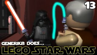 "LEGO STAR WARS The Complete Saga Ep 13 - ""Saving Princess Leia!!!"""