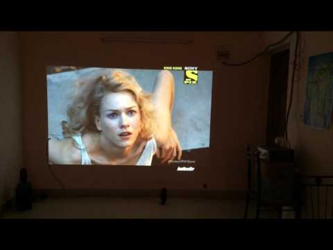 How to hook up cable box to projector