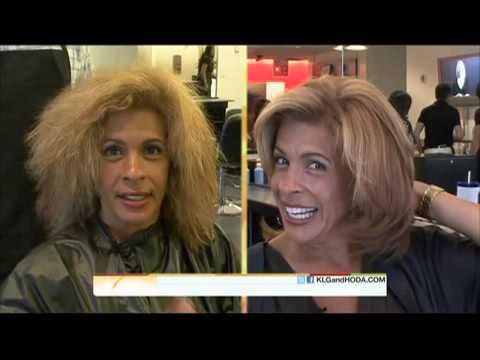 Hoda Gets BRAZILIAN SILK Keratin Treatment on the Today Show