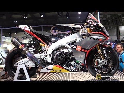 2014 Aprilia RSV4 Racing Bike - Superbike Champion - Walkaround  - 2014 EICMA Milan Motorcycle Show