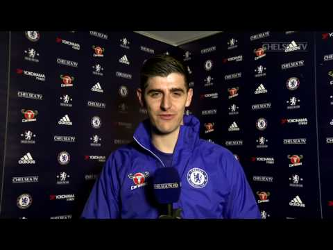 GUEST CHELSEA TV PUNDIT THIBAUT COURTOIS: Reports from Chelsea v Brentford