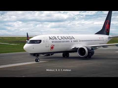 Air Canada : 737 En Vol