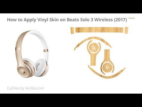 Beats Solo 3 Wireless Vinyl Skin Application Tutorial