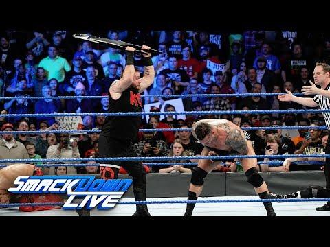 AJ Styles, Randy Orton & Shinsuke Nakamura vs. Kevin Owens & Sami Zayn: SmackDown LIVE, Jan. 9, 2018