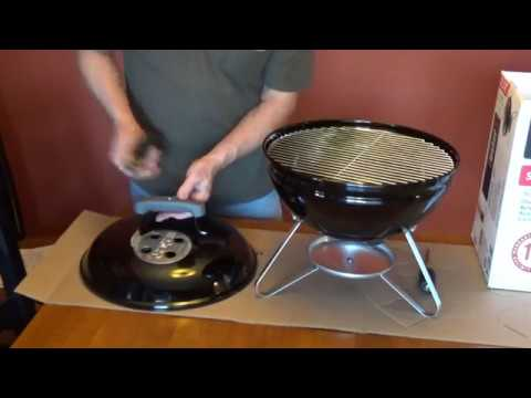 Weber Holzkohlegrill Smokey Joe Test : How to assemble the weber smokey joe charcoal grill youtube