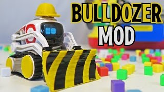 Cozmo - How to Customize - BULLDOZER MOD! (Lets Play Anki's New Robot Review!)