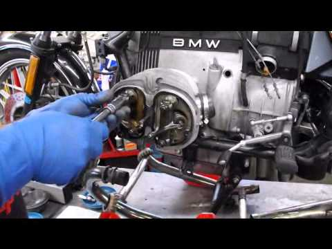 BMW Service - BMW R100 Pushrod Tube Seal Replacement Part 1 of 3