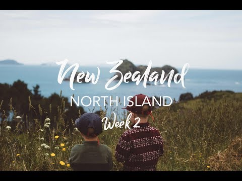 Road Trip Across New Zealand with Kids!!! - North Island // Hiking the Globe with Kids