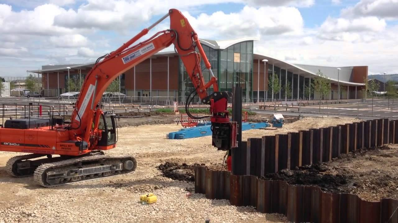 Home - Elite Sheet Piling|Movax Hire|Sheet Piling