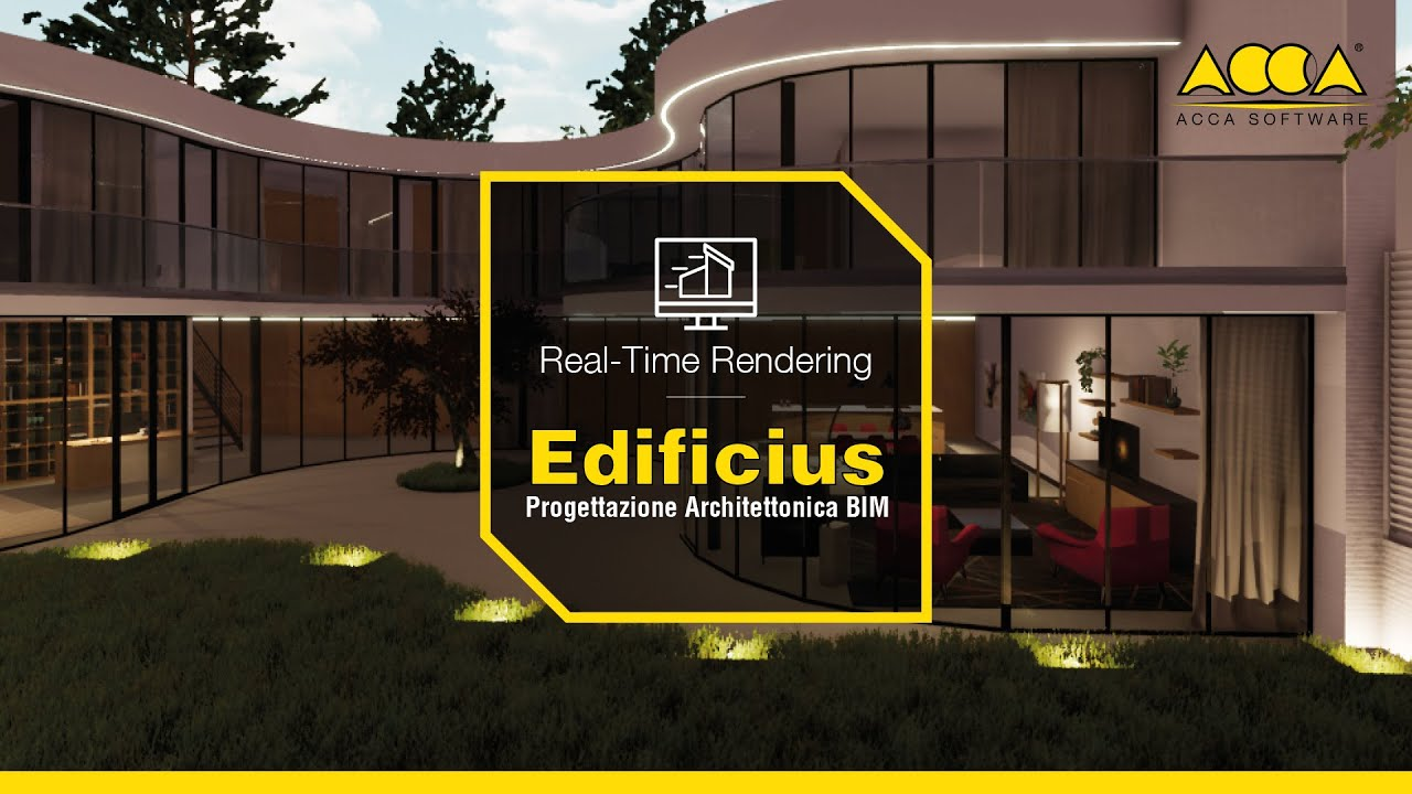 software rendering 3d per architettura in real time