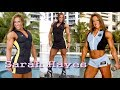 Sarah Hayes extremely strong and beautiful lady | American muscle queen