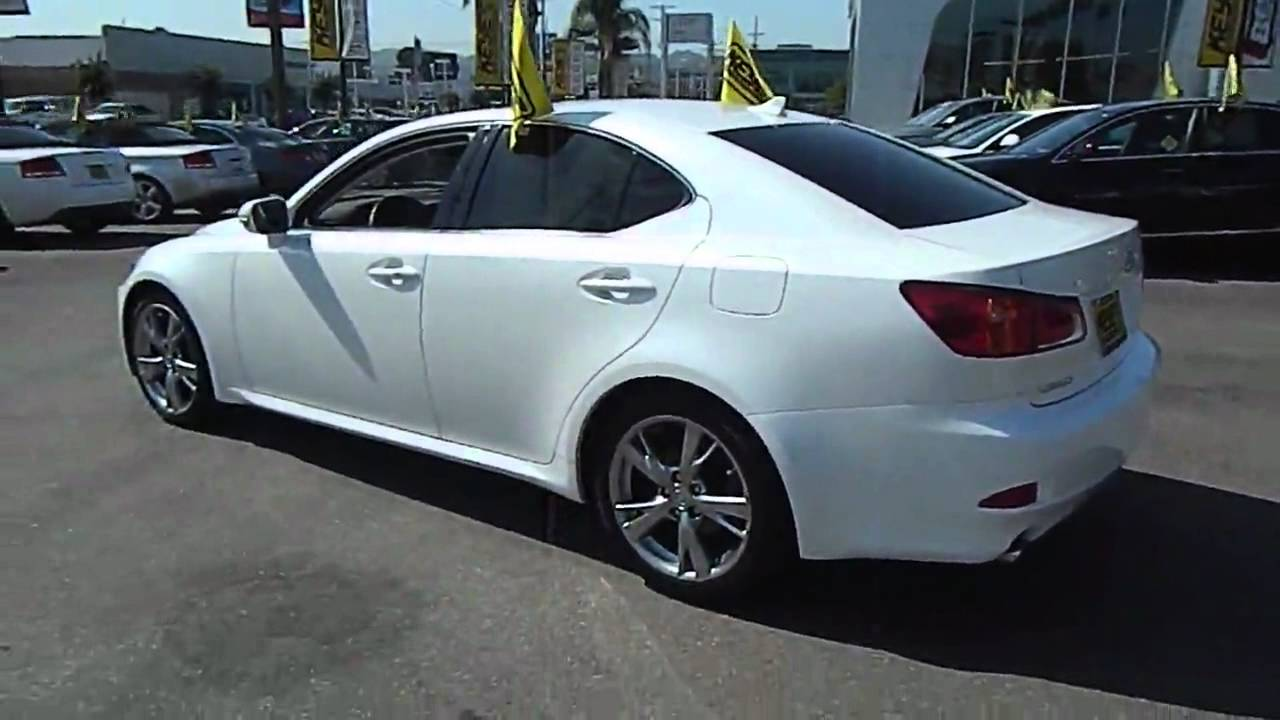 2009 lexus is is 250 sport sedan 4d los angeles ca 420436 youtube. Black Bedroom Furniture Sets. Home Design Ideas
