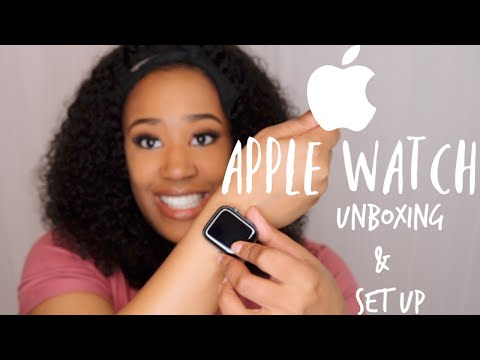 How 44 MM Apple Watch Series 5 (GPS) Looks On My Wrist! | Unboxing + Set Up!