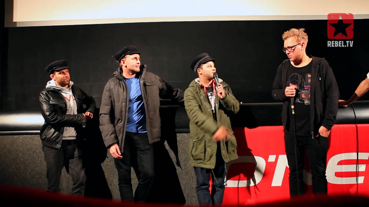 Cinema premiere Fighting Fear in Hamburg
