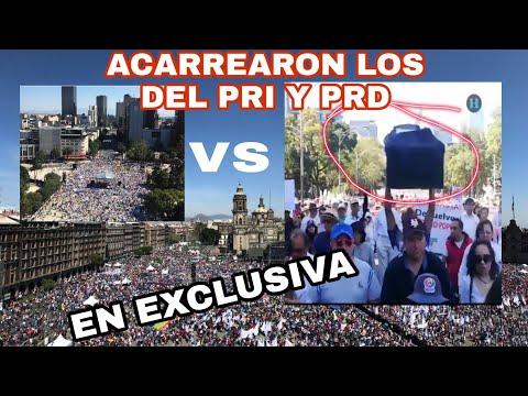 Imágenes EXCLUSIVAS DE LA MARCHA Del PRIAN, DE RISA