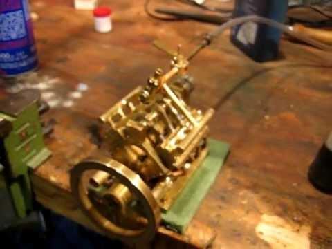 Supermicro V8 Crossplane steam engine 5.09ccm total displacement