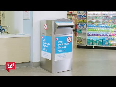 Walgreens | How To Dispose Of Your Drugs Safely