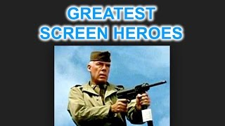 Greatest screen heroes - Major John Reisman in The Dirty Dozen