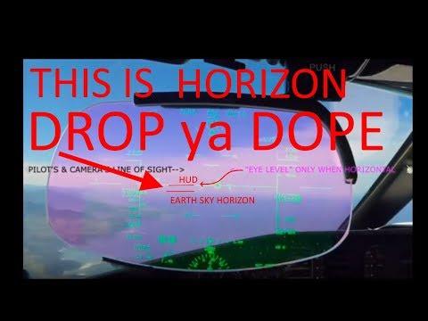 Flat Earth Eye Level Horizon Flying Lesson With a DUD Teacher thumbnail