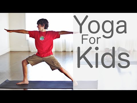 4 Minute Yoga for Kids With Fightmaster Yoga