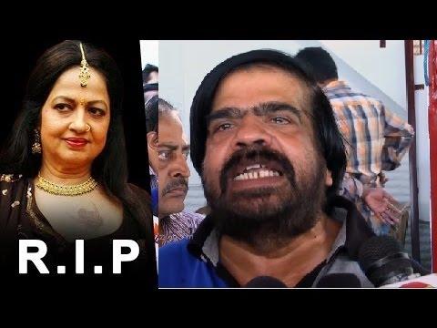 T Rajendar's emotional crying speech at Jyothi Lakshmi's Funeral   Death Video