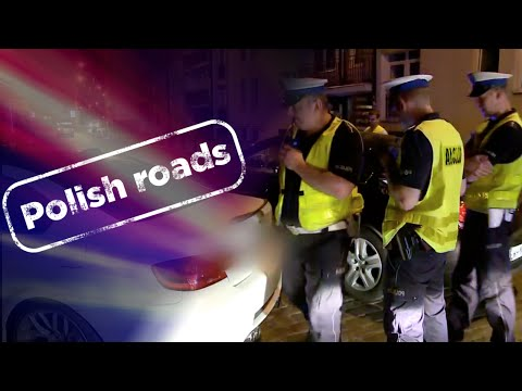 """Police in pursuit of a repeat traffic offender nicknamed """"Frog"""" - Polish Roads"""