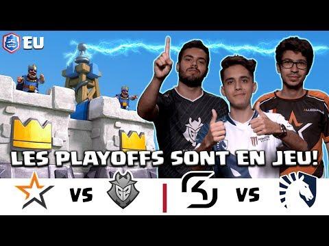 [FR] CRL Europe: Allegiance vs G2 Esports   SK Gaming vs Team Liquid