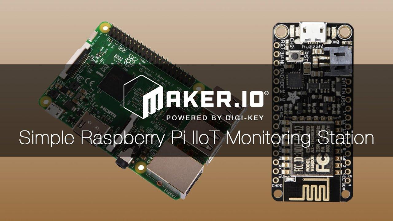 Simple Raspberry Pi IIoT Server