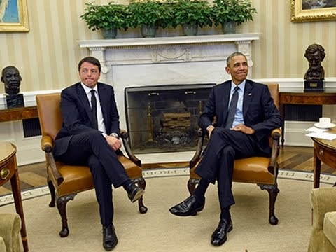 Raw: Obama Meets Italian Prime Minister