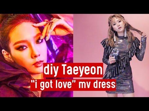 "DIY Taeyeon ""I Got Love"" MV Dress | DIY K-POP Closet #1"