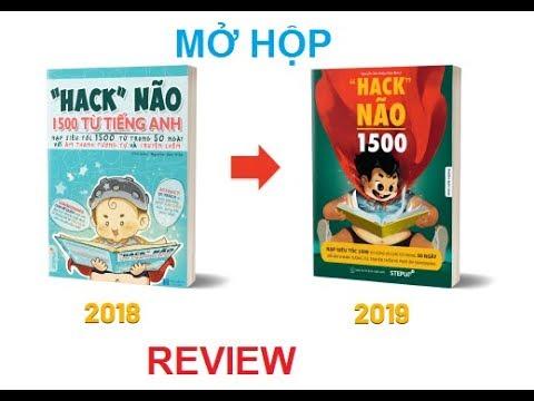 """download sách hack não 1500 từ tiếng anh 2019 - Mở hộp bộ 3 sách """"Hack"""" não 1500 version 2019 và """"Hack"""" não Ielts đến từ Step up"""