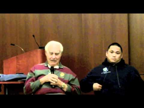 Veteran Alumni Panel 2011 Professor Fred Bergerson