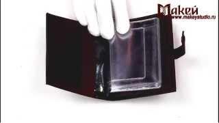 Видео обзор обложки для документов Макей на кнопке 570-07-04
