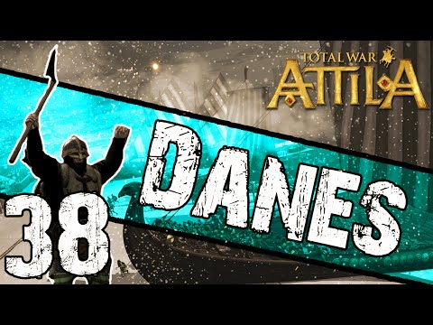 Total War: Attila - Danes Campaign #38 ~ Blood on the Streets of Rome! poster