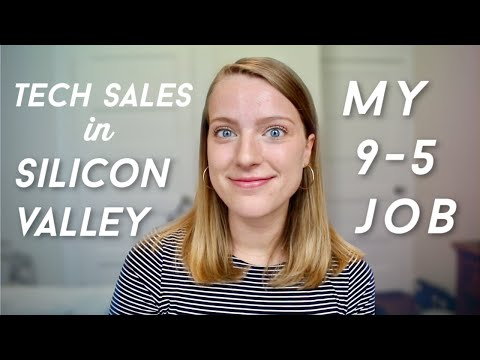 What I Actually Do For Work | Tech Sales In Silicon Valley