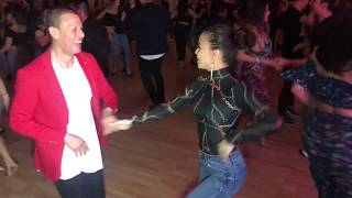 AMNERIS & BETO SALSA DANCE AT SEATTLE  SALSA CONGRESS 2018