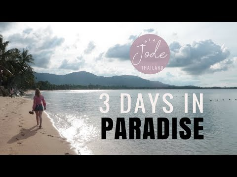 3 DAYS IN KOH SAMUI, THAILAND | WHAT I PACKED FOR A BEACH VACATION ON A THAI ISLAND