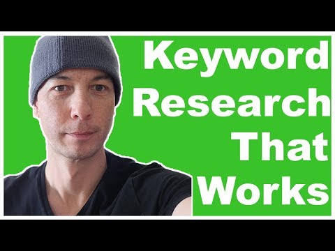 Keyword Research for Amazon Affiliate Niche Sites That ACTUALLY WORKS - Step By Step