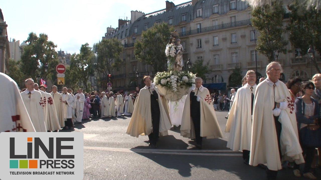 procession notre dame de paris