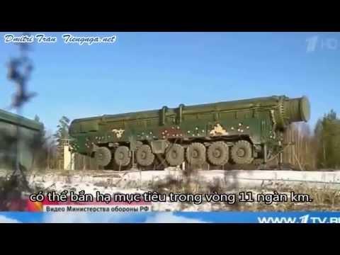 Tập trận quân binh chủng Nga (vũ khí chiến lược, tên lửa đạn đạo, Topol, ...)