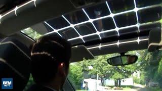 Cette voiture électrique est recouverte de panneaux solaires