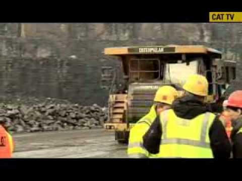 Caterpillar's Production Analysis (Scale Truck) Team In Belgium