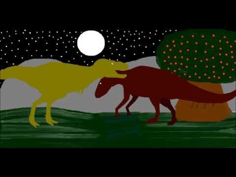 PPBA Edmontosaurus vs Tarbosaurus