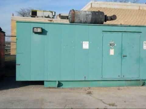 Used- Cummins 400 KW Diesel Generator Set  - Stock# 41595001