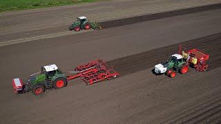 Big Planting | Fendt 1050 Vario, 824 & 720 Vario | Mencke Landbouw | Potato planting 2019
