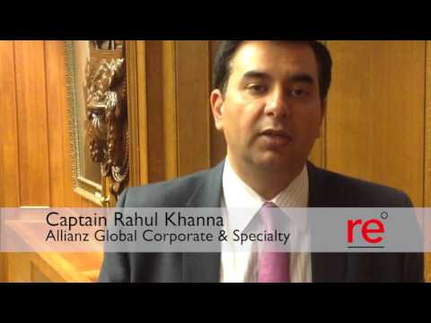 Captain Rahul Khanna on emerging risks in the marine market