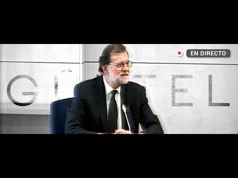 Mariano Rajoy testifica en el marco del caso Gürtel