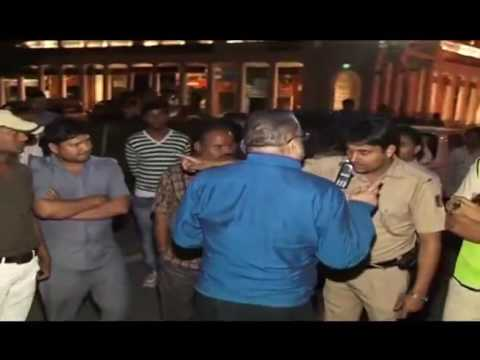 Rich Spoiled Brat Brawl with Police in India